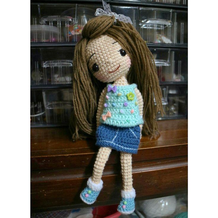 Cute crochet doll ♡