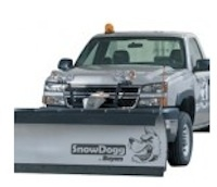 SnowDogg HD / EX Snow plow. Stainless steel and corrosion free