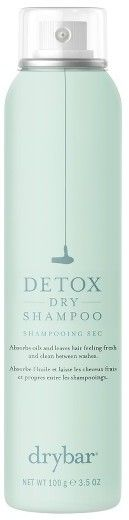 Drybar 'Detox' Dry Shampoo  The only dry shampoo that doesn't make my head feel itchy and dirtier. I love this.
