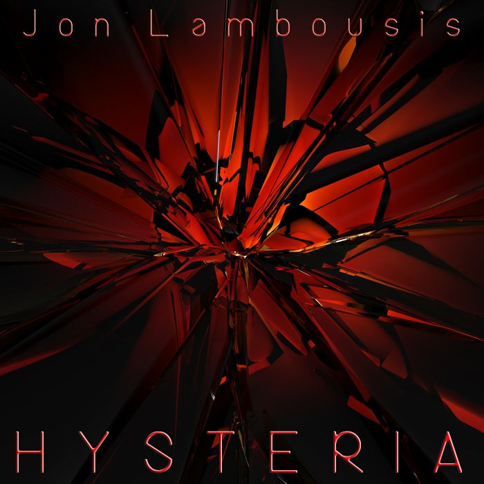 "New release, titled ""Hysteria"". Heavy Electro beats driven by the intense guitars of Jon Lambousis - Hysteria is an Electro Rock outburst of raw emotion - riding the roller-coaster of confusion, angst and euphoria."