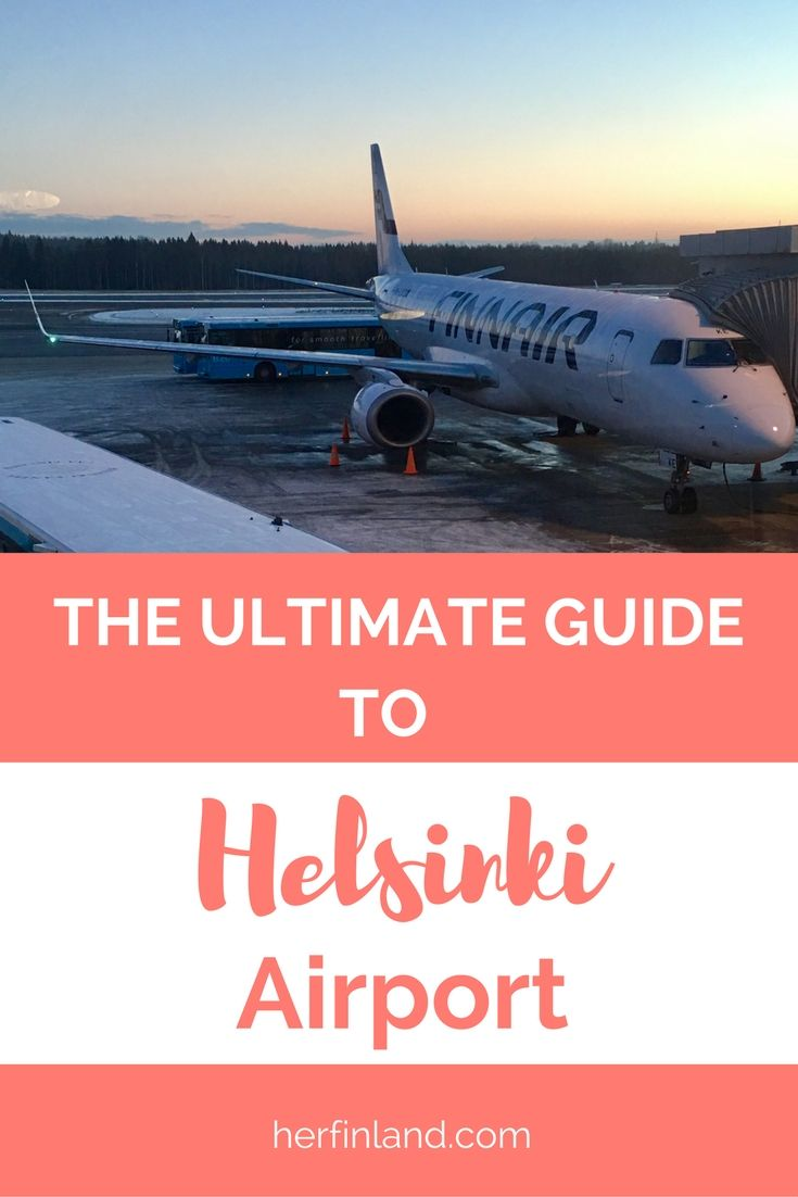 Travel planning perfection! All information you need about Helsinki airport: codes, map, terminals, services, hotels, traveling with kids, and practical tips.