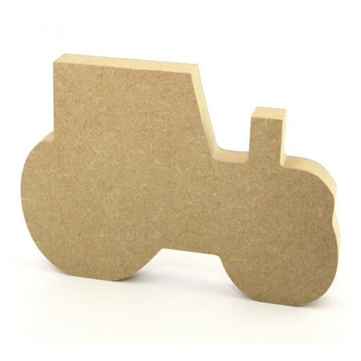 Tractor 18mm freestanding blank craft shapes http://www.lornajayne.co.uk/