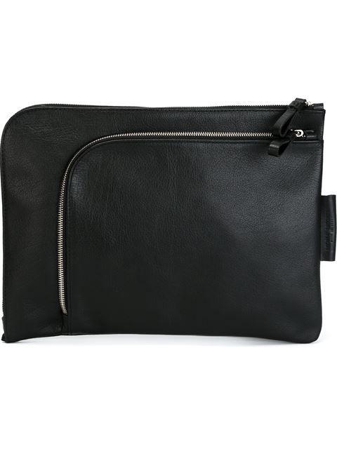 Andrea Incontri | double zip clutch