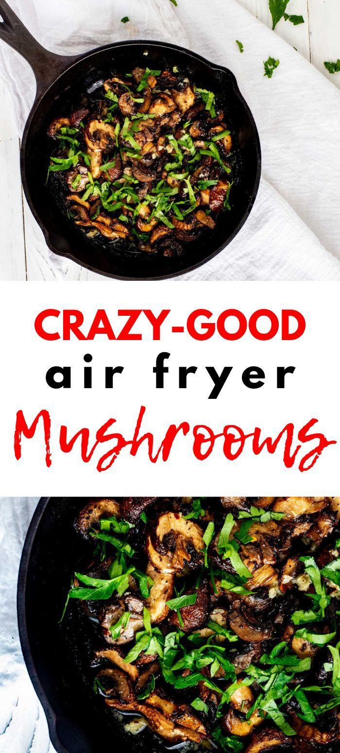 Air Fryer Mushrooms Recipe Recipes, Keto recipes easy