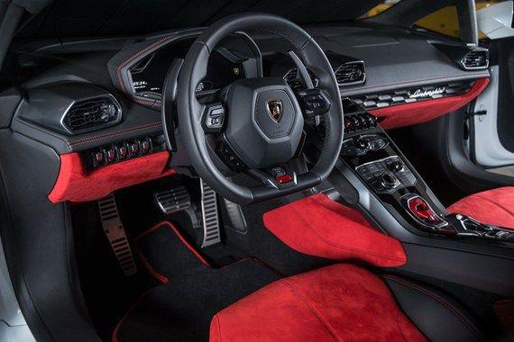2015 Huracan Interior | Lamborghini - White | Pinterest ...