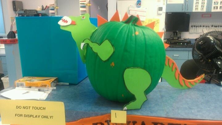 Dinosaur Pumpkin Dinosaur Things I Love Pinterest