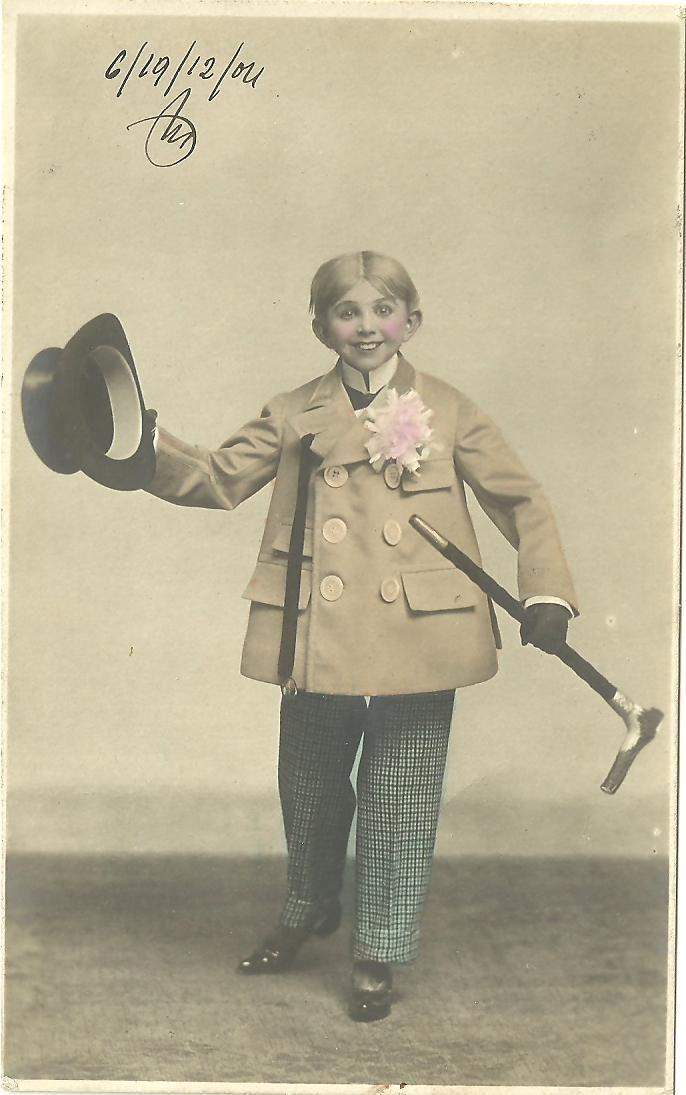 1902 Balkans boy