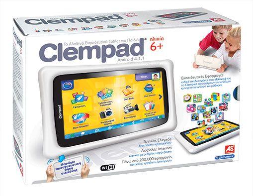 Διαγωνισμός: Κερδίστε το παιδικό Tablet Clempad της Clementoni!
