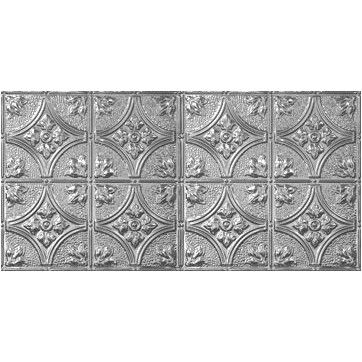 Chelsea Decorative Metal Co Victorian 2 ft. x 4 ft. Tin-plated Steel Tile