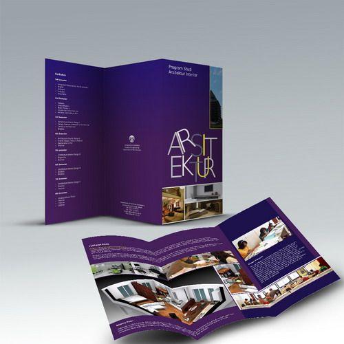 Desain Brosur Departemen Arsitektur Fakultas Teknik Universitas Indonesia oleh www.SimpleStudioOnline.com | Order desain brosur profesional >> WA : 0813-8650-8696