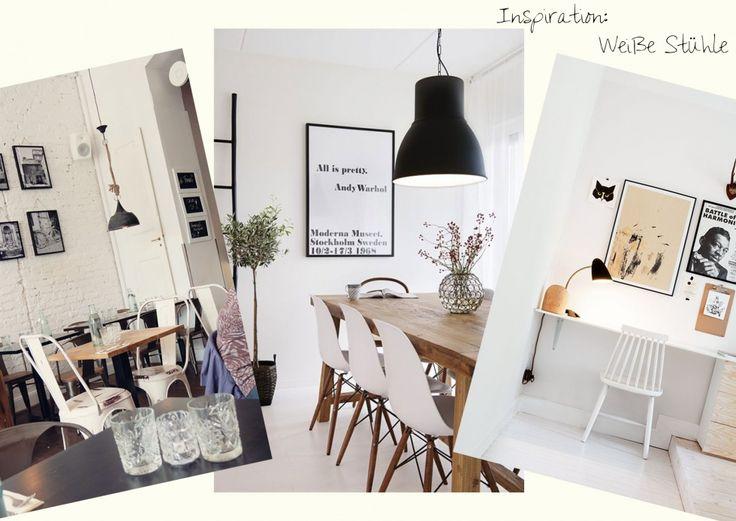 Inspiration_Weiße Stühle