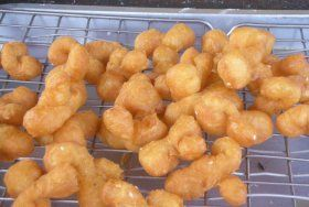 Authentic Thai recipe for Thai Donuts, 'Pa Thong Ko' from ImportFood.com.