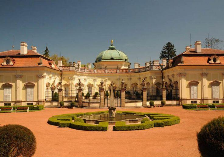 Buchlovice castle (South Moravia), Czechia