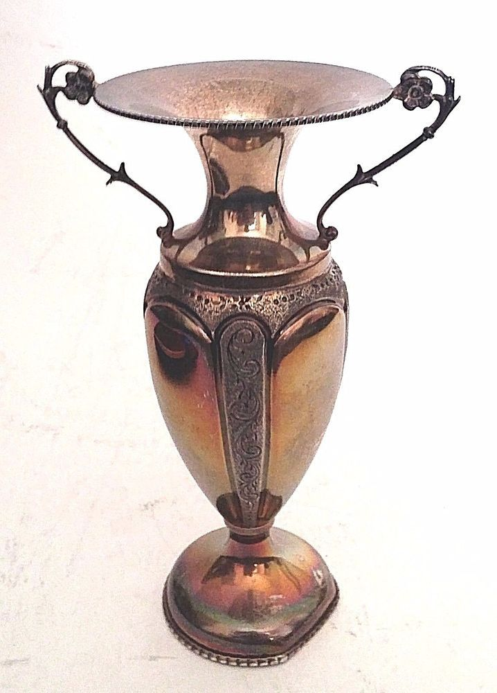 Antique Art Nouveau Vase Sterling Silver | Antiques, Silver, Sterling Silver (.925) | eBay!
