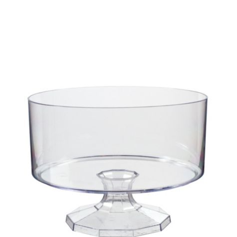 Small CLEAR Plastic Trifle Container - Party City