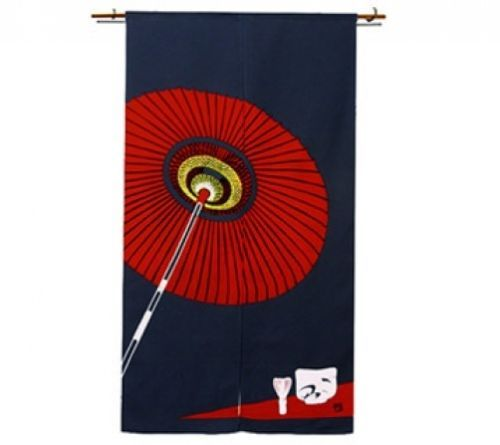 JAPANESE Noren Curtain umbrella NEW(N-I)