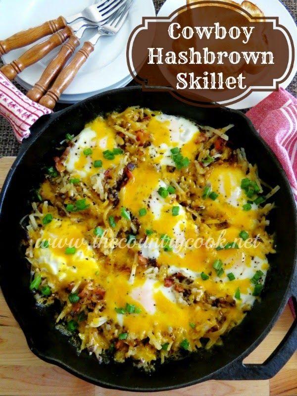 Cowboy Hash Brown Skillet Recipe on Yummly. @yummly #recipe