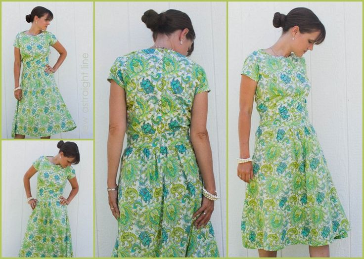 Free Dress Sewing Patterns Image collections - origami instructions ...