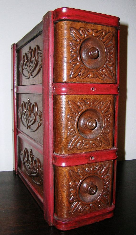 Antique Singer Treadle Sewing Machine Cabinet by KathatKreations, $250.00 - Best 25+ Sewing Machine Cabinets Ideas On Pinterest Vanity