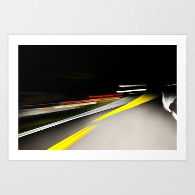 Blurred Racing Art Print by Tim Eisenhauer - $17.68