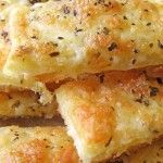 Easy Cheesy Garlic Breadsticks - made these for a superbowl party and they were not great.  Didn't have a ton of flavor and the breadsticks were very thin.  If we made these again definitely need more cheese and spices for added flavor.  Won't be making this recipe again instead will try to find a different one.