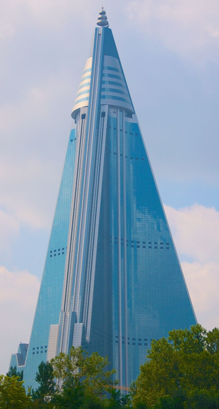 Ryugyong Hotel, NORTH KOREA.