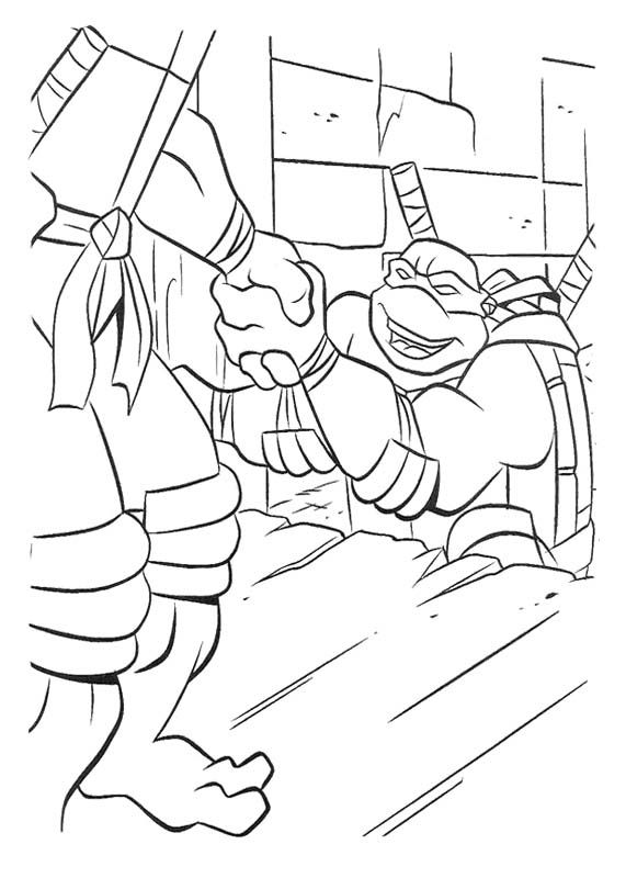 40 best Ninja Turtle Coloring Page images on Pinterest Coloring - best of mini ninja coloring pages
