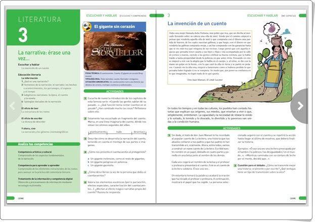Unidad 13 de Lengua Castellana y Literatura de 1º de E.S.O. (Unidad 3 de Literatura)