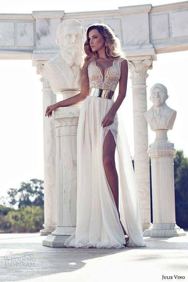 Julie Vino, colección 2014.   30 Vestidos de novia que te darán ganas de casarte inmediatamente