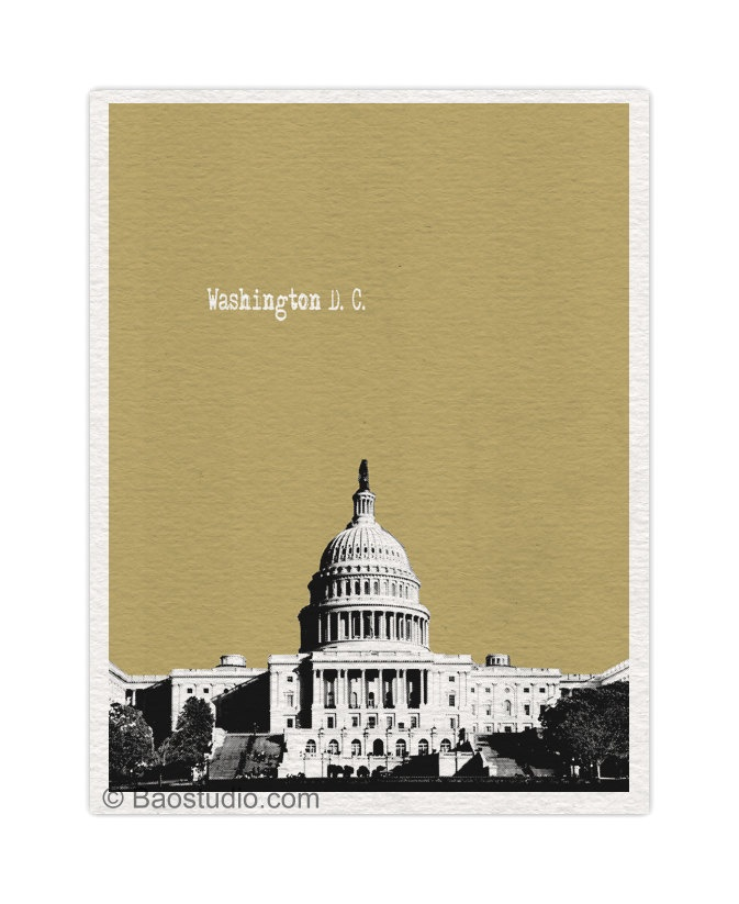 Washington Dc Popout Map%0A US Capitol Washington DC Art Print   x   World Traveler Series Pop Art  Skyline Poster