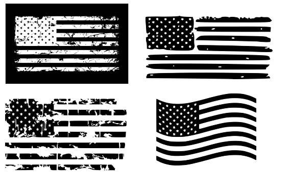 American Flag Svg Distressed American Flag Svg Usa Flag Svg Etsy American Flag Decal Distressed Flag Flag Decal