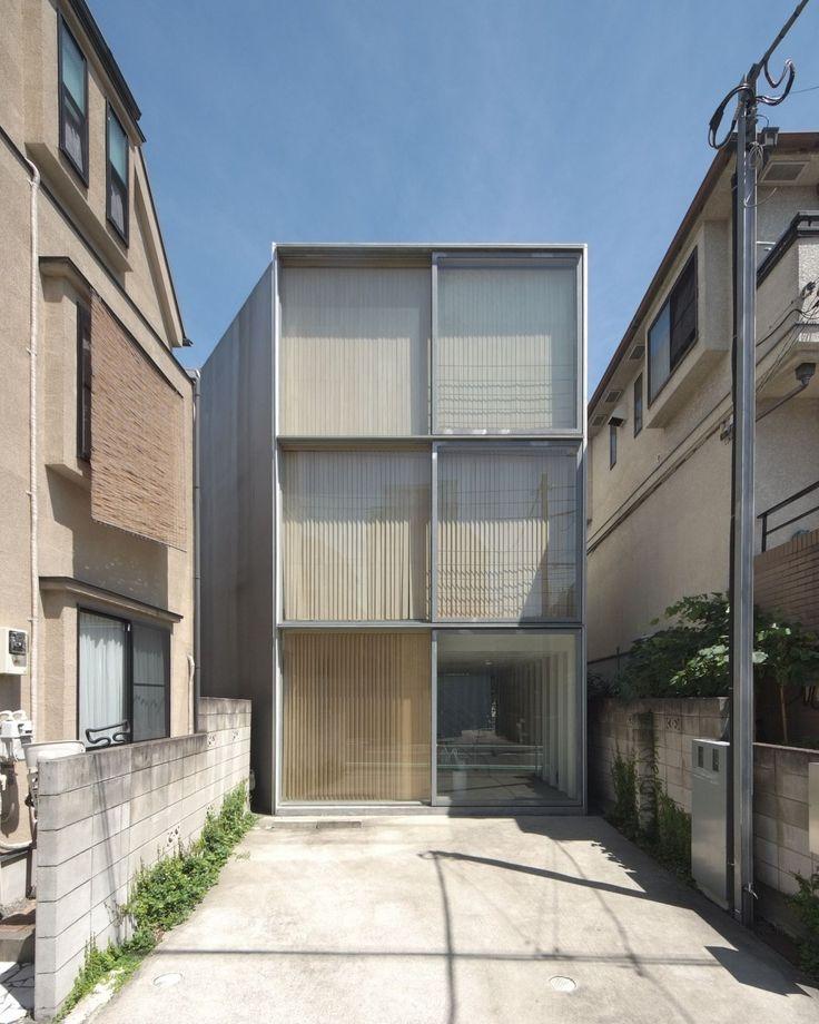 Tezuka . Ohno . Steel Sheet Building . Tokyo (1)