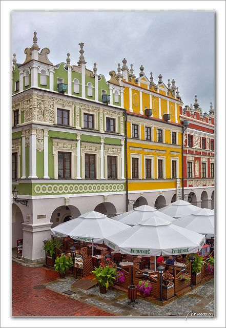 Zamosc Market Poland ⍢ https://www.pinterest.com/pin/349803096036271710/