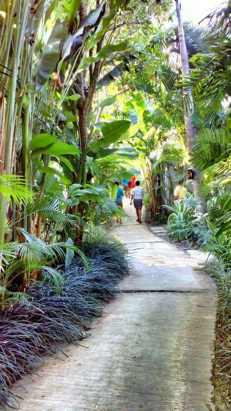 Pathway to #paradise at @macavillasbali - Interacting with nature to find #sanctuary