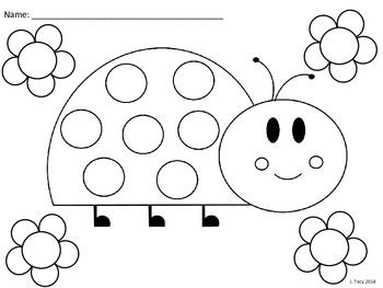 this file includes 3 ladybug coloring sheets i created these are part of the bug