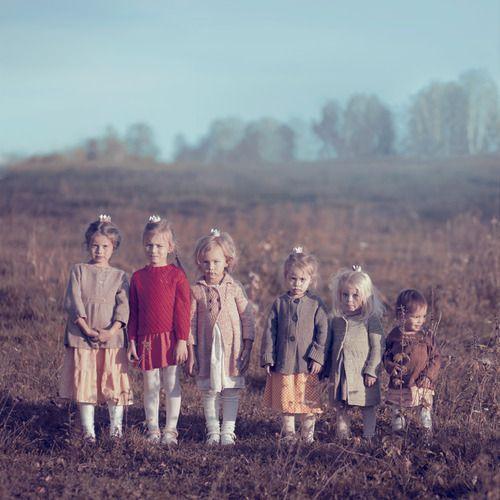 aurorae:  six sisters by AnnaGrazhdankina on deviantART