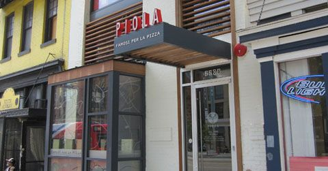 Bottomless Pizza and Mimosa Brunch at Piola Pizza, U Street