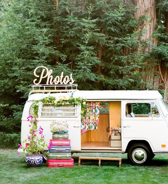 como realizar tu propio photobooth o photocall caravana