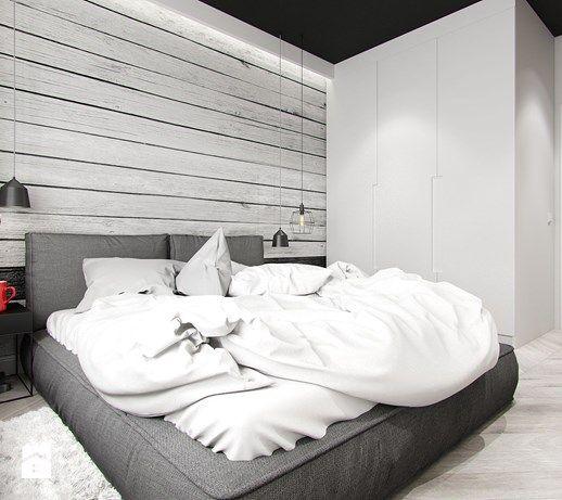 MINIMALISTYCZNY INDUSTRIALIZM - Sypialnia, styl minimalistyczny - zdjęcie od PEKA STUDIO