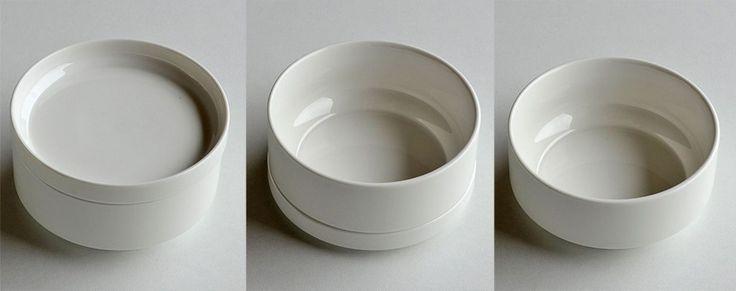 Tigela para servir de materiales cerámicos PORCELAIN SERVING DISH By ZANGRA