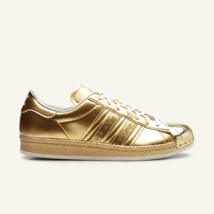 Adidas – Superstar 80s – Gold Metal – Støy