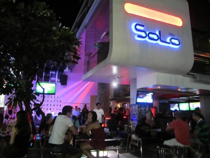 Bar Solo in Chaweng Beach in Koh Samui, Thailand.