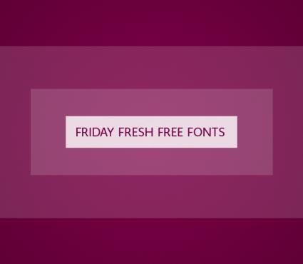 Friday Fresh Free Fonts - Mirella Script, Wayfinding Sans, ...