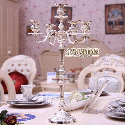 Изысканный Свадьба Подсвечник Европейский три пять товары для дома, отель КТВ свадебные важно дар ужин при свечах - Taobao