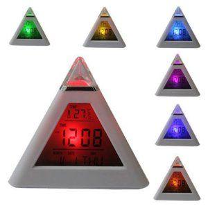 EasySMX Reveil Mignon LED Clock Pratique Digital Alarm Pour Voyage/Salle d'enfant/Fils/Fille