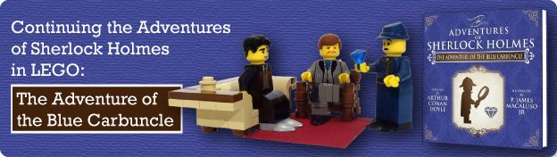 Continuing the Adventures of Sherlock Holmes in LEGO: The Adventure of the Blue Carbuncle