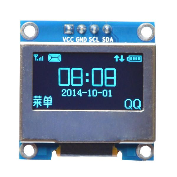 Us 6 46 0 96 Inch 4pin Blue Iic I2c Oled Display With Screen Protection Cover Module For Arduino Module Board For Arduino From Electronics On Banggood Com In 2020 Arduino Arduino Modules Display Screen