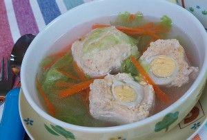 Resep Anak: Bakso Ayam Isi Telur