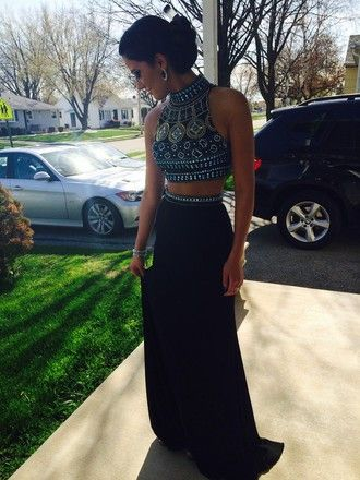 58 best Crop tops w/ long skirts images on Pinterest