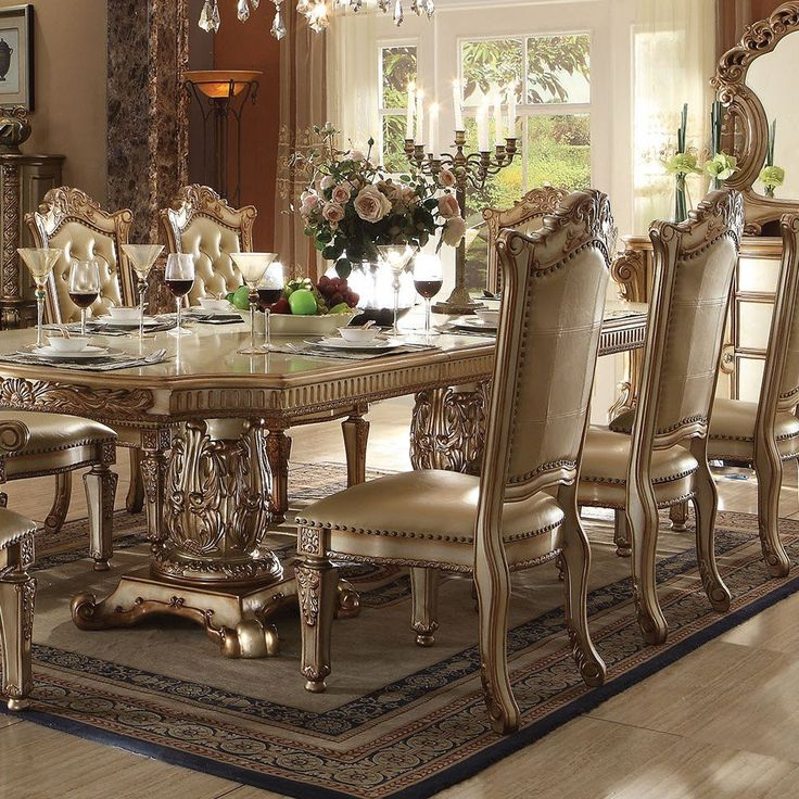812 Best Dining Chairs Images On Pinterest  Side Chairs Chairs Prepossessing Acme Dining Room Set 2018